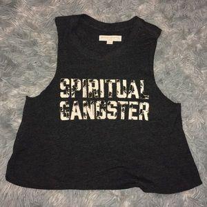 Spiritual Gangster Crop Tank